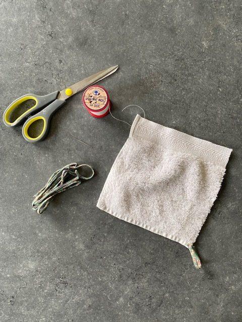 maériel DIY lingette lavable tissu éponge en coton